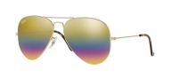 RB 3025 9020/C4 AVIATOR™ LARGE METAL MINERAL LENSES