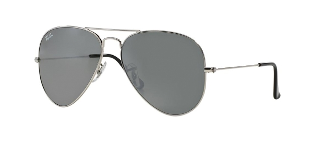RB 3025 W3277 AVIATOR™ LARGE METAL FLASH LENSES