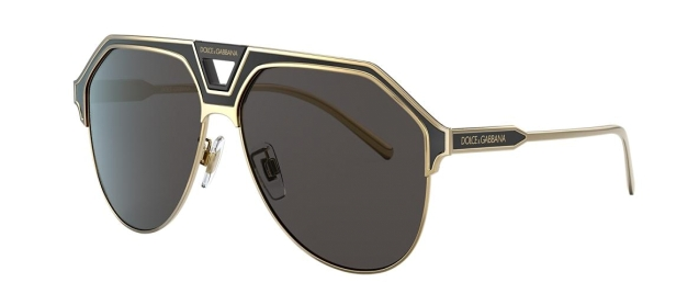 DG 2257 133487 GOLD/BLACK MATTE