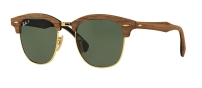 RB 3016M 1181/58 CLUBMASTER WOOD POLARIZED